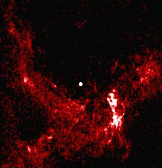 Radio Image of Sgr A*